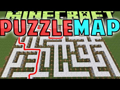 REZOLVAM 10 NIVELE RAPID - Minecraft: Puzzle MAP !