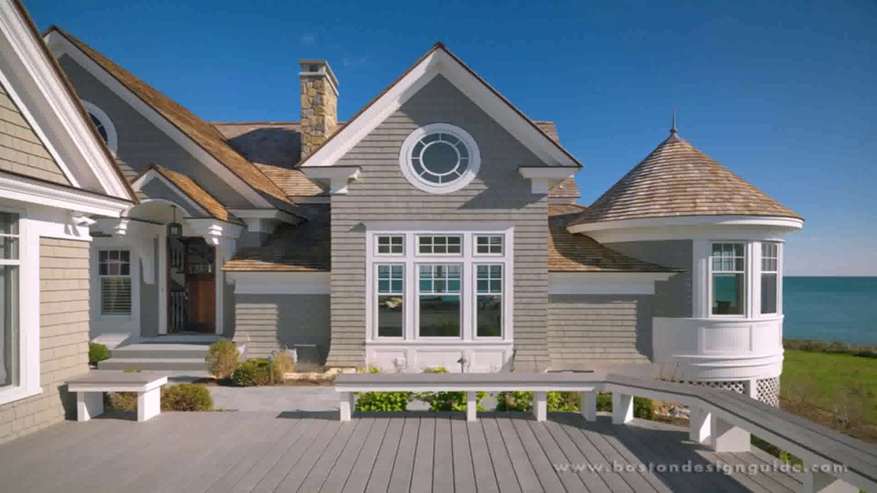 New england style cape cod house plans youtube for Modified cape cod house plans