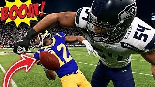Madden 19 Gameplay - These New Hit Sticks Are CRAZY!