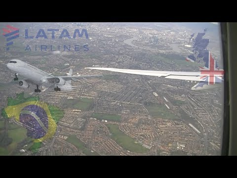 SAO PAULO TO LONDON BY LATAM AIRLINES