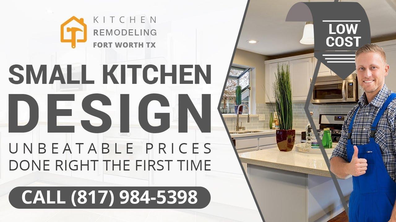 Small Kitchen Design Arlington TX | Call (817) 984 5398