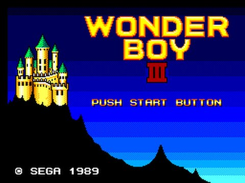 Master System Longplay [001] Wonder Boy III: The Dragon's Trap