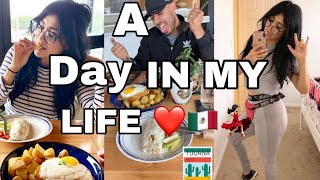 Come to Mexico & clubbing with me 🇲🇽🔥 Full day of eating!