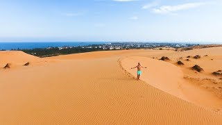 Red Sand Dunes in Vietnam