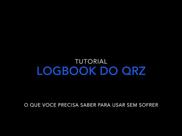 Configurando o LogBook do QRZ.COM