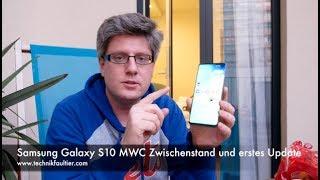Samsung Galaxy S10 MWC Zwischenstand und erstes Update