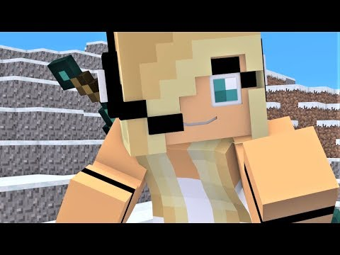 NEW Minecraft Song Psycho Girl 7 ONE HOUR - Psycho Girl Minecraft Animations and Music Video Series