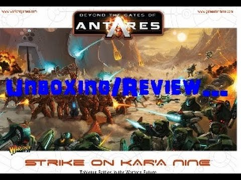 Beyond The Gates Of Antares Strike On Kar'a Nine Unboxing/Review