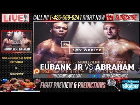 Chris Eubank Jr. v Arthur Abraham Press Conference and Fight Review