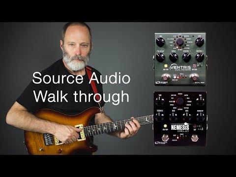 Source Audio Nemesis & Ventris Effects Chain | A Walkthrough