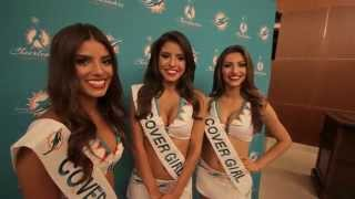 Miami Dolphins Cheerleaders Swimsuit Calendar Unveiling