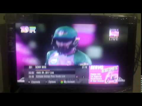 Videocon LCD TV VAD32HH double picture any solution