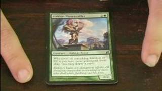 Magic the Gathering: Guide to Green Cards : Kithkin Mourncaller Green Card in Magic the Gathering
