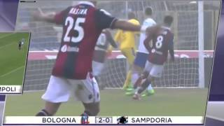 Video Gol Pertandingan Bologna vs Sampdoria