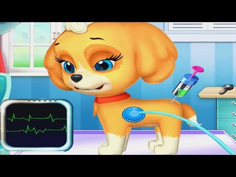 Play My Cute Little Pet Puppy Pet Care Kids Game - Let's Take Care Of Cute Puppy Mini Games For Kids