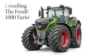 Fendt 1000 Unveiled at 2016 National Farm Machinery Show