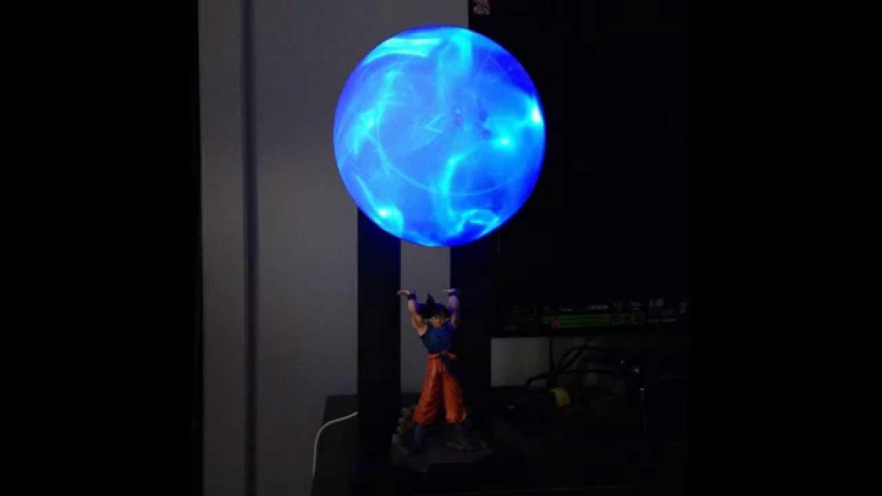 Goku Spirit Bomb Lamp Final  YouTube