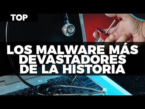 Los malware más devastadores en toda la historia #TopUnocero