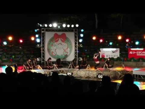 高松高校ダンス部⑤ 高松冬のまつり2016.12.22