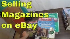 Listing, Selling, Shipping Magazines - $400 eBay Sale - 8 hour quick flip