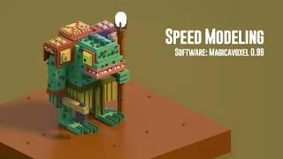 All clip of magicavoxel models | BHCLIP COM