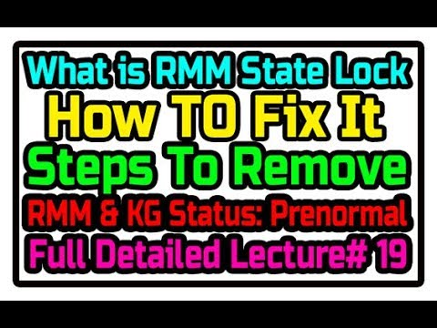 2018 RMM state = Prenormal tagged videos on VideoHolder