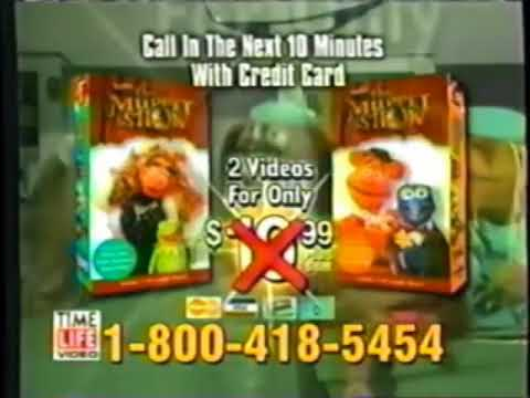 Time Life The Best of The Muppet Show VHS Release Ad (2001)