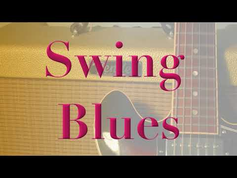 swing blues backing track - jump blues style - up tempo