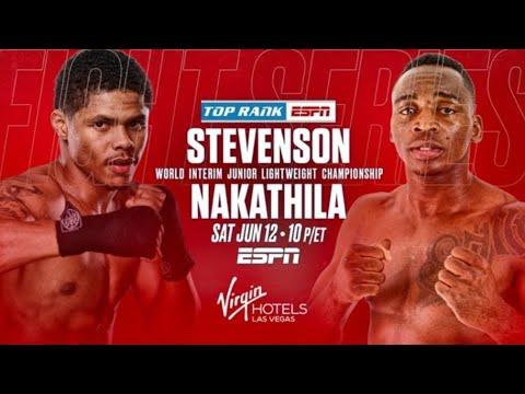 Shakur Stevenson vs. Jeremiah Nakathila live updates, results and ...
