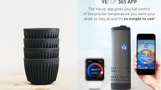 5 Cool Inventions You need to Buy for Drinking- Smart Mug, HuskeeCup, Water Bottle & Mixer Bottle.