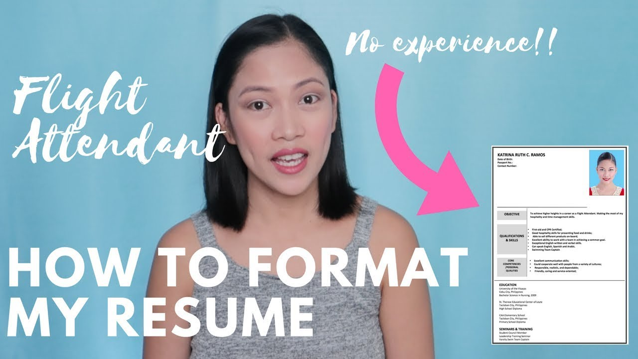 How To Format Your Resume Tips Misskaykrizz Philippines Youtube