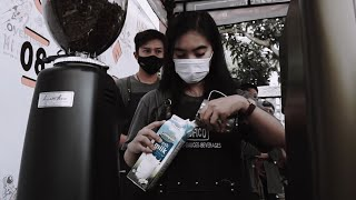 latte art throwdown 2020 2nd anniversary Overtime Coffee ciamis