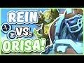 Overwatch   REINHARDT VS  ORISA  Who s the Better Anchor Tank