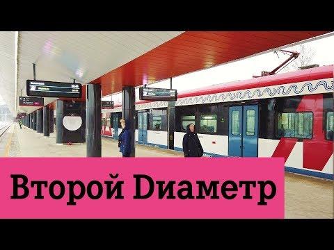 МЦД 2 Московские центральные диаметры станции