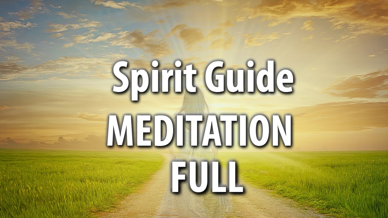 Full Guided Meditation   Connect To God And Your Spirit Guides   Secret  Garden Version