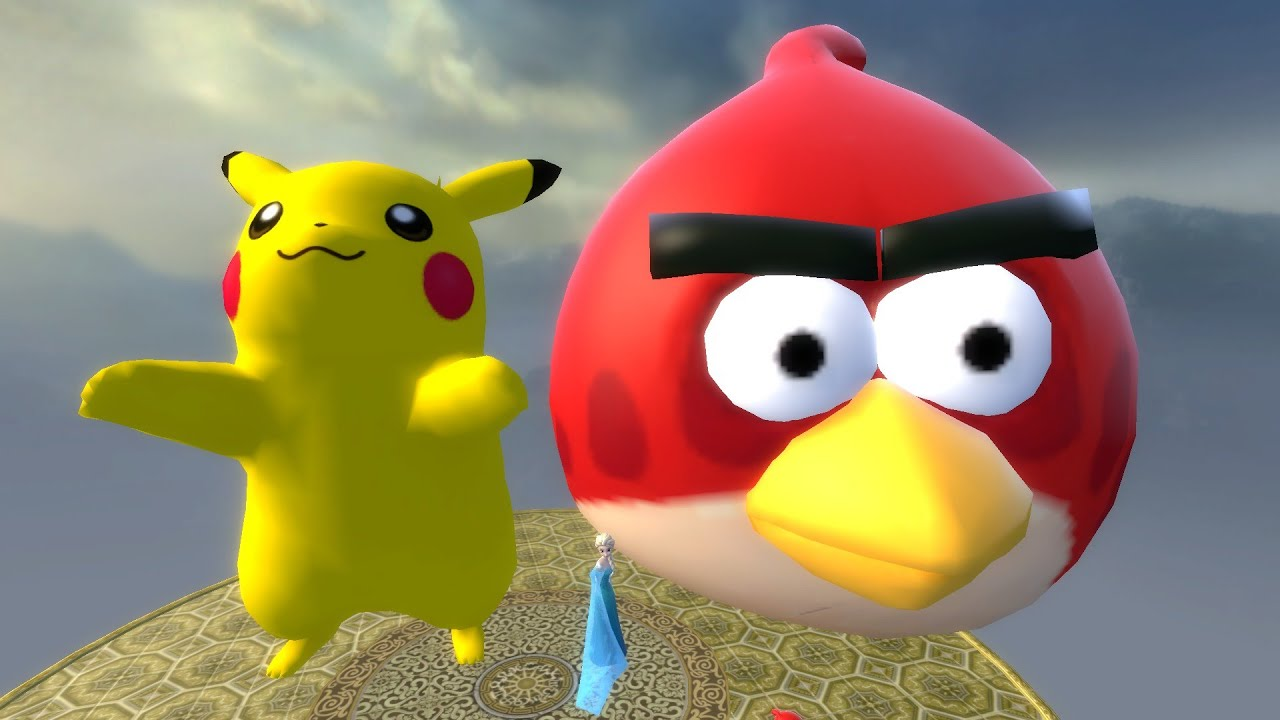 angry birds pig pikachu - photo #12
