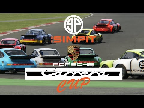 simpit porsche carrera cup on sim racing system week 3. Black Bedroom Furniture Sets. Home Design Ideas