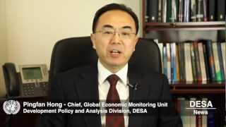 Global Economy Risks Falling into Renewed Recession - WESP 2013 (DESA News)
