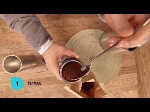 Bobble Presse Coffee Maker : Impress Coffee Brewer Kickstarter Video Doovi