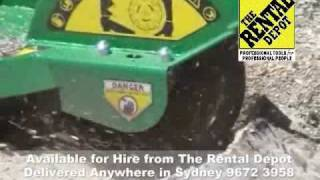Hire a Stump Grinder now @ The Rental Depot