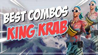 Best Chapter 2 Combos | King Krab + Back Scoop | Fortnite Skin Review