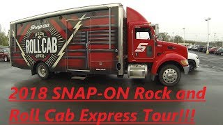 2018 SNAP ON ROCK AND ROLL CAB EXPRESS TOUR!!