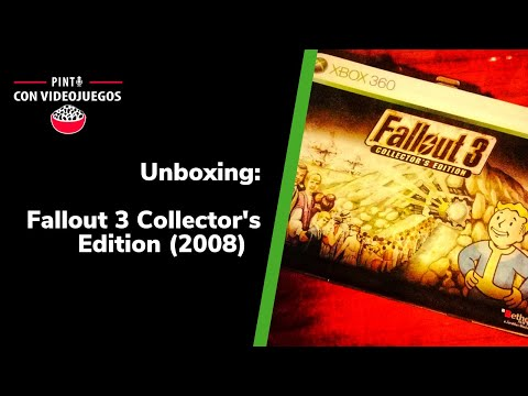 ¡UNBOXING! Fallout 3 Collector Edition (2008)(X360)