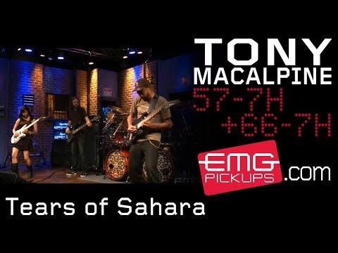 "Tony MacAlpine and band perform ""Tears of Sahara"" on EMGtv"