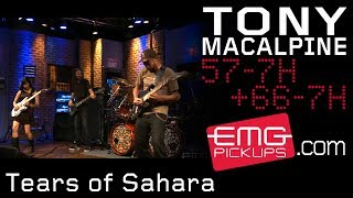 Tony MacAlpine and band perform