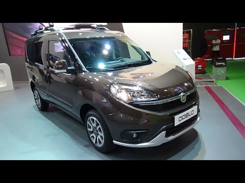 2017 Fiat Doblo Panorama Trekking - Exterior and Interior -