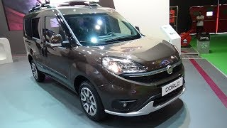 2017 Fiat Doblo Panorama Trekking - Exterior and Interior - Automobile Barcelona 2017
