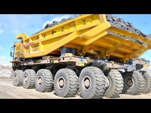 World Dangerous Biggest Monster Excavator MAXIMUM Truck Operator Skills Fastest Heavy Equipment