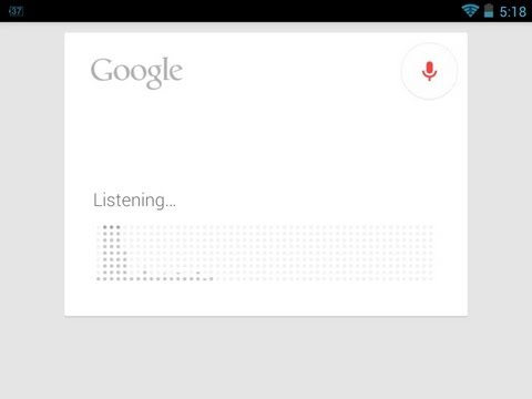 Android Google Search Update - Music Recognition