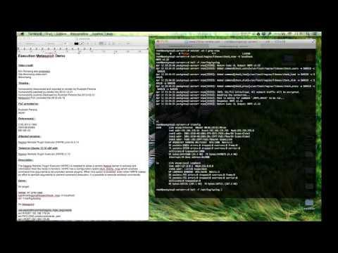 CVE-2013-1362 Nagios NRPE Command Execution Metasploit Demo